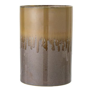 BLOOMINGVILLE - Vase, Brown - Frenchbazaar -Bloomingville