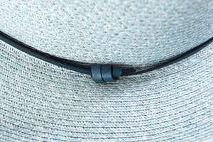 Hat - Borsalino with leather strap - Frenchbazaar -Travaux en cours
