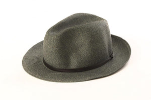 Granit - Borsalino with leather strap
