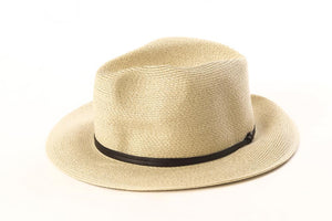 Mastic - Borsalino with leather strap - Frenchbazaar -Travaux en cours