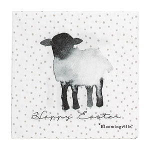 Paper Serviette Easter Sheep - Frenchbazaar -Bloomingville