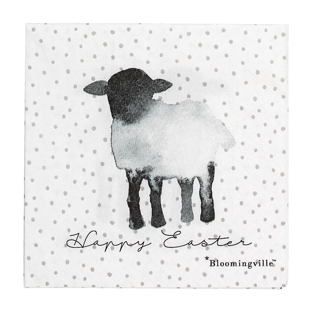 BLOOMINGVILLE - Paper Serviette Easter Sheep - Frenchbazaar -Bloomingville