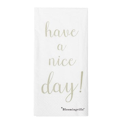 BLOOMINGVILLE - Napkin Paper, Pack of 16 - Frenchbazaar -Bloomingville