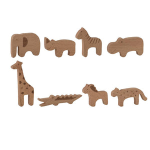 Toy Animal Beech, Nature Pack of 8