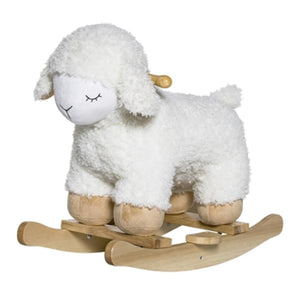 Rocking Sheep Polyester, White