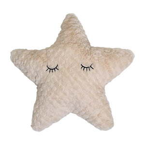Star Cushion Polyester, Nature - Frenchbazaar -Frenchbazaar