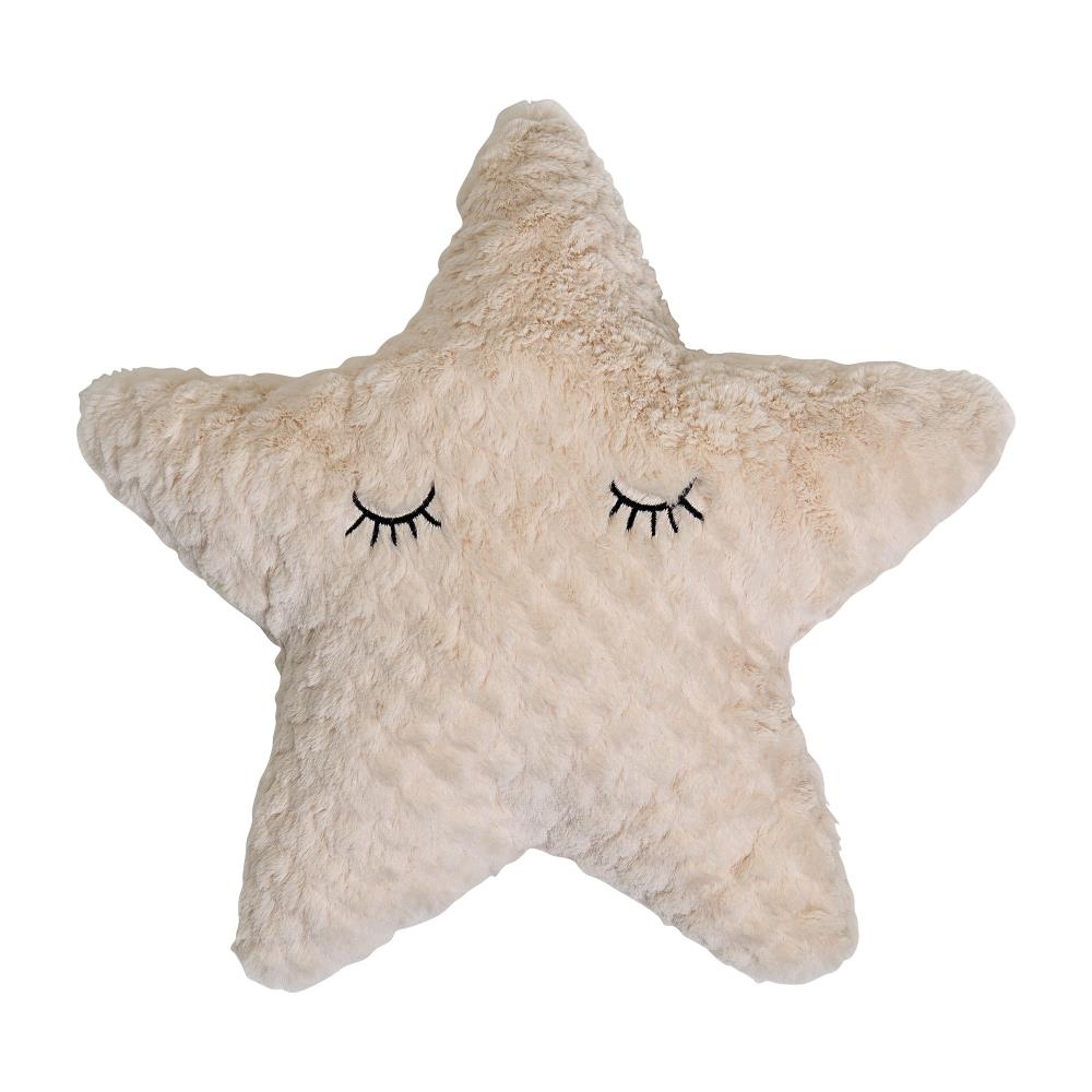 Star Cushion Polyester, Nature  / 4  PCS - Frenchbazaar -Frenchbazaar