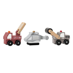 Set of assorted Toy cars - Frenchbazaar -Bloomingville