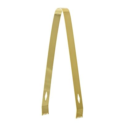 BLOOMINGVILLE - Ice Tongs, Gold, Stainless Steel - Frenchbazaar -Bloomingville