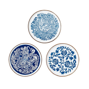 BLOOMINGVILLE -  Molly Plates Set of 3 - Frenchbazaar -Bloomingville