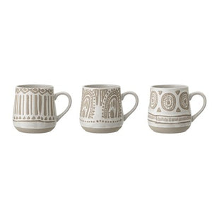 BLOOMINGVILLE - Set of 3 Mugs - Frenchbazaar -Bloomingville