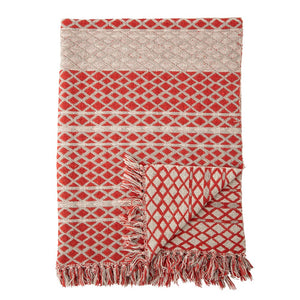 Bloomingville - Throw Red Cotton - Frenchbazaar -Frenchbazaar