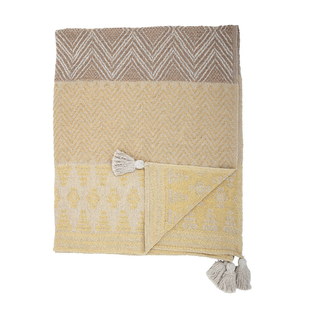 BLOOMINGVILLE - Cotton Throw - Frenchbazaar -Bloomingville