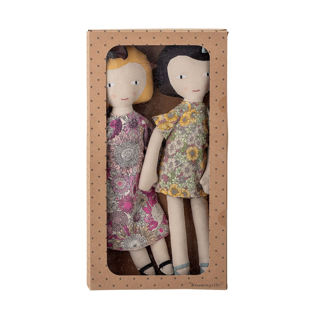 Bloomingville - Set of 2 soft dolls - Frenchbazaar -Bloomingville