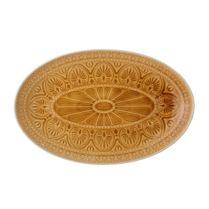 Bloomingville - Rani Serving Plate, Yellow - Frenchbazaar -Bloomingville