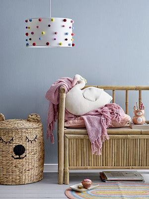 BLOOMINGVILLE - Throw, Rose, Cotton - Frenchbazaar -Bloomingville