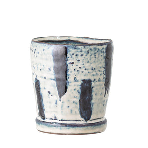 BLOOMINGVILLE - Indigo Planter small - Frenchbazaar -Bloomingville
