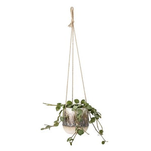 BLOOMINGVILLE - Marion Hanging Planter, Multicolor - Frenchbazaar -Bloomingville