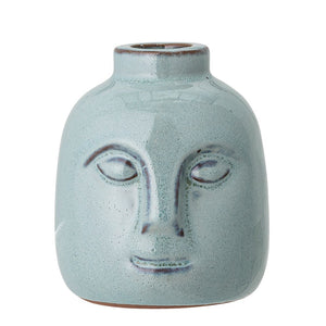 BLOOMINGVILLE- Green face candlestick - Frenchbazaar -Bloomingville
