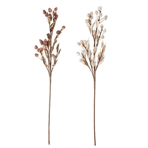 BLOOMINGVILLE - Set of 2 Deco Artificial Flowers