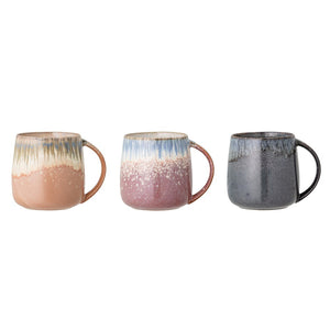 BLOOMINGVILLE - Jude Mug, Set of 3 - Frenchbazaar -Bloomingville