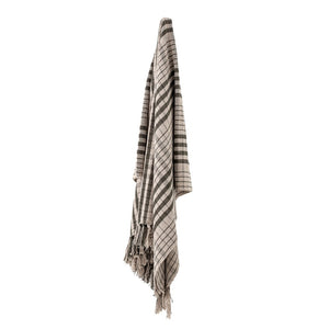 BLOOMINGVILLE - Fryd Green Recycled Cotton Throw