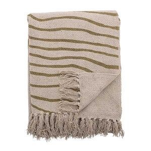 BLOOMINGVILLE - Hyab Green Recycled Throw