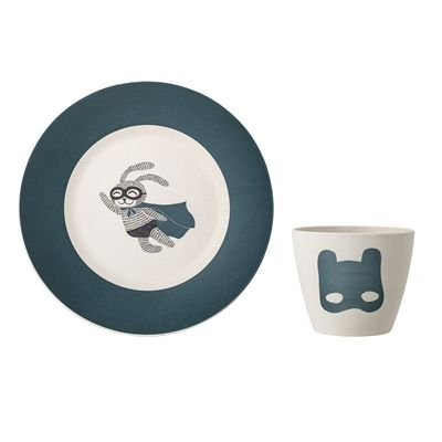 BLOOMINGVILLE -Superhero Serving Set