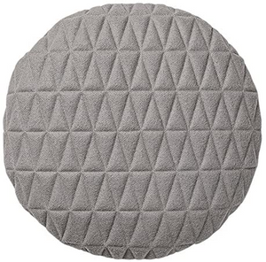 BLOOMINGVILLE -Round Grey Cushion - Frenchbazaar -Bloomingville