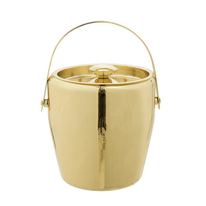 BLOOMINGVILLE - Ice Bucket Stainless Steel, Gold - Frenchbazaar -Bloomingville