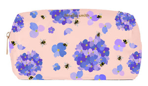 FENELLA SMITH- Bee Vegan Leather Box Wash Bag - Frenchbazaar -Fenella Smith