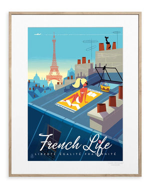 MONSIEUR Z FRENCH LIFE - Frenchbazaar -Image Republic