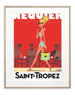 MONSIEUR Z SAINT TROPEZ - Frenchbazaar -Image Republic