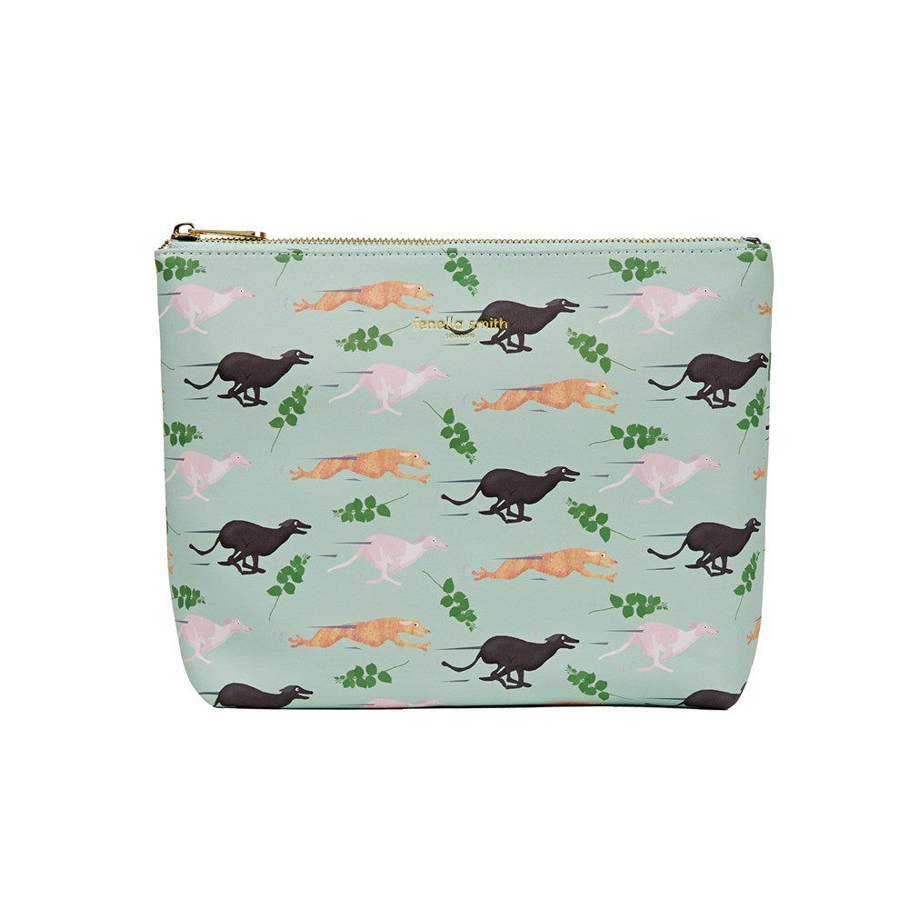 FENELLA SMITH- Fast Dog Vegan Leather Wash Bag COPY