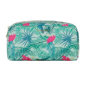 FENELLA SMITH- Hummingbird Vegan Leather Box Wash Bag - Frenchbazaar -Fenella Smith