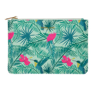 FENELLA SMITH- Hummingbird Vegan Leather Pouch - Frenchbazaar -Fenella Smith