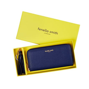 FENELLA SMITH- Navy Tassel Keyring & Purse Set