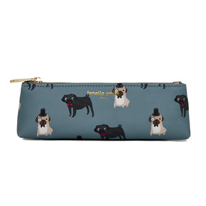 FENELLA SMITH- Pug Vegan Leather Pencil Case
