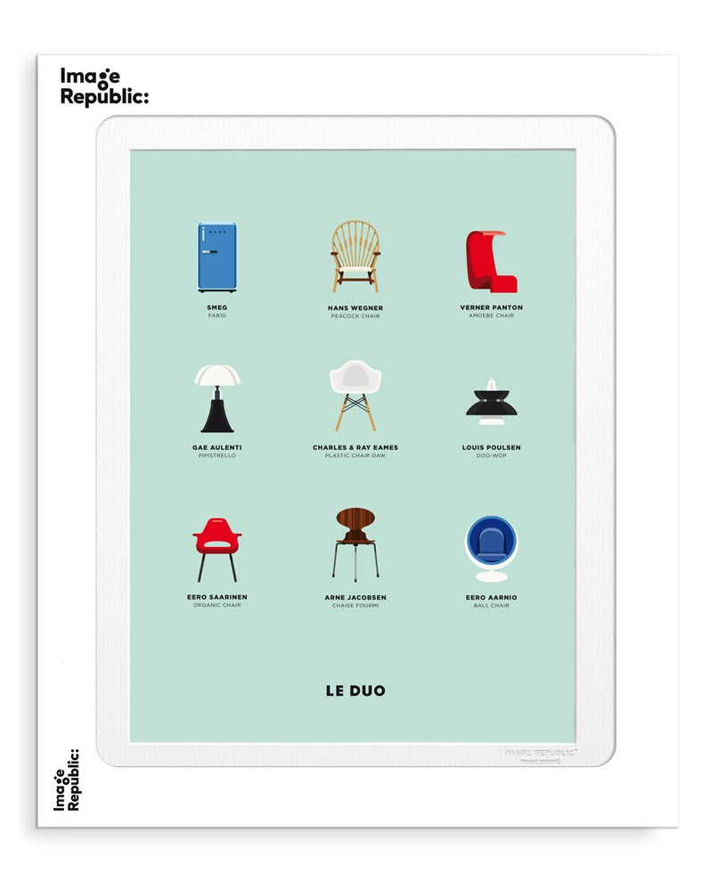 DESIGN BOARD-LE DUO - Frenchbazaar -Image Republic