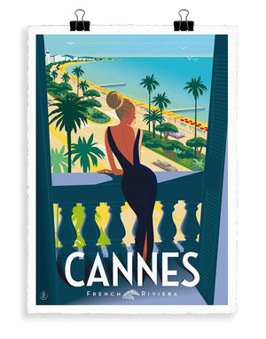 MONSIEUR Z CANNES FENETRE - Frenchbazaar -Image Republic