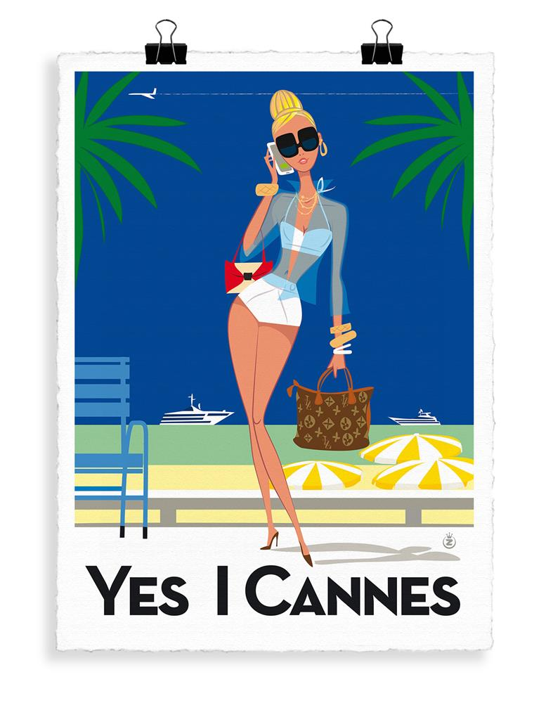 MONSIEUR Z YES I CANNES - Frenchbazaar -Image Republic