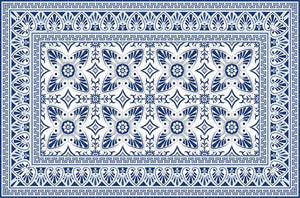 Bella Blue placemat