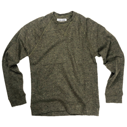 Aloha Sunday Carter Sweater - Olive - Sunset Dry Goods & Men's Supply PH