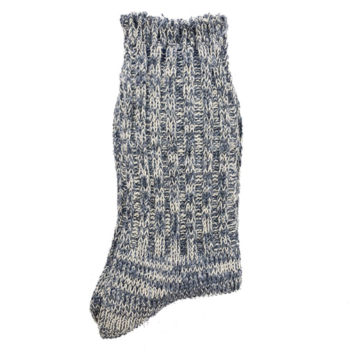 Anonymous Ism 2-pack Slub Crew Socks - Light Blue - Sunset Dry Goods & Men's Supply PH