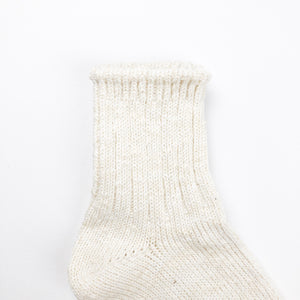 Anonymous Ism Slub Q Socks - Off White - Sunset Dry Goods