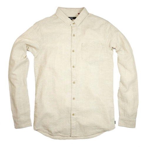 Banks 'Edwards' L/S Shirt - Desert Mist - Sunset Dry Goods