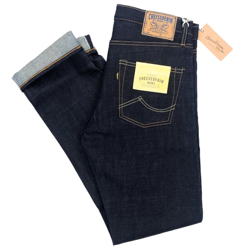 Cheese Denim Works 'SF-141' 15oz. Japanese Selvedge Jeans (Slim Cut) - Sunset Dry Goods