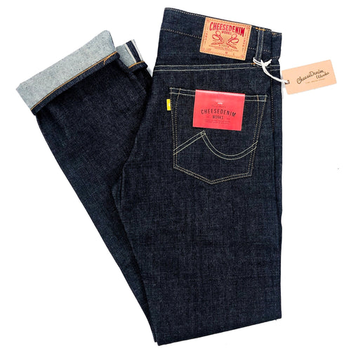 Cheese Denim Works 'SF-54XX' 16oz. Japanese Selvedge Jeans (Tight Cut) - Sunset Dry Goods
