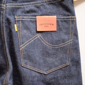 Cheese Denim Works 'SF-66x' Unsanforized Selvedge Jeans (Regular Cut) - Sunset Dry Goods