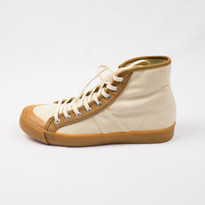Colchester Rubber Co. Contrast High Top - Ecru x Dead Grass - Sunset Dry Goods & Men's Supply PH
